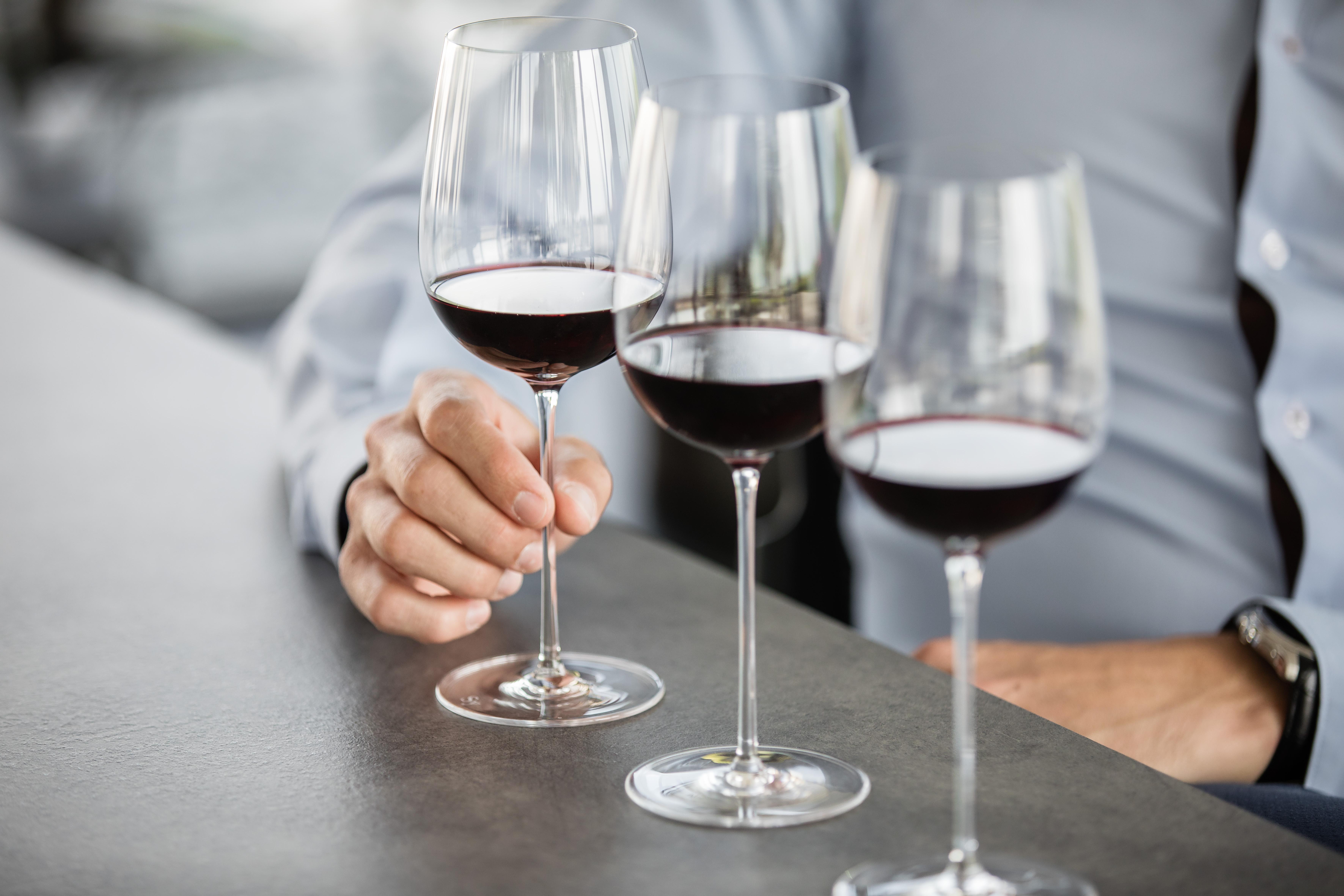 Выбор бокала для вина